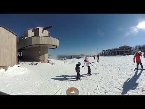Beech Mountain Skiing in 360!