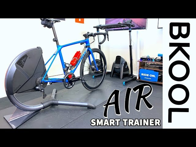 BKool AIR Smart Trainer: Details // Unboxing // Ride Review