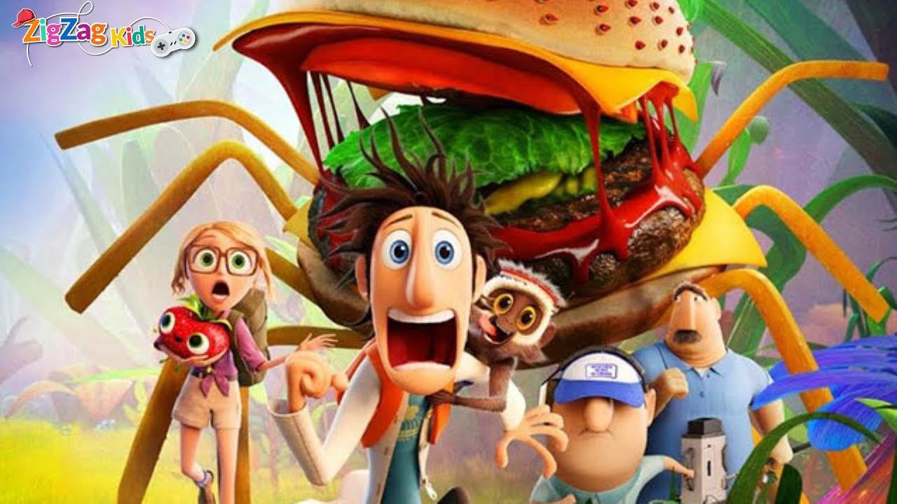 Cloudy With A Chance of Meatballs | Full Movie Game | ZigZag