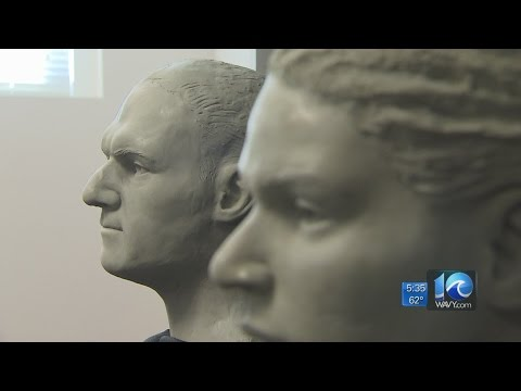 Medical Examiner using facial reconstruction to solve two cases