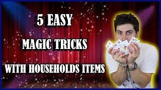5 AWESOME magic tricks REVEALED