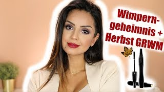 Full face using High End! Volle Wimpern,Volle Lippen - GRWM für den Herbst I Tamtam Beauty
