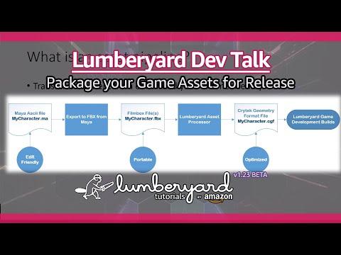 Package Game Assets With The Amazon Lumberyard Asset Bundler | Lumberyard Developer Talk 2020.01