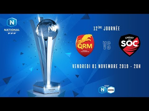 12e journée : Quevilly - Cholet I National FFF 2019-2020
