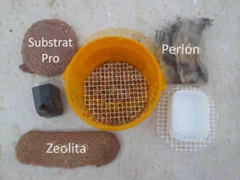 Filtro casero para estanque de tortugas youtube for Filtro solar para estanque