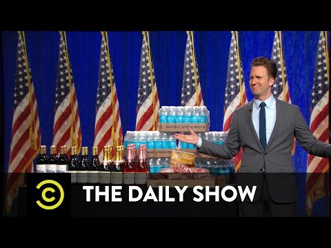The Daily Show - Donald Trump's Victory Speech/Infomercial
