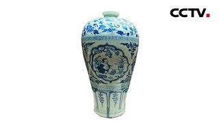 [多彩亚洲] 亚洲文明展 美美与共 伊朗釉陶瓶神似明青花 | CCTV