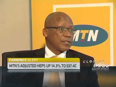 MTN's First Half Results with Sifiso Dabengwa