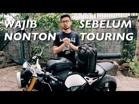 TIPS TOURING MOTOR UNTUK PEMULA - BMW R Nine T #dimvlog 274