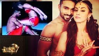 Salman & Lauren's BOLD & EXPLICIT PERFORMANCE in Jhalak Dikhla Jaa 7 14th June 2014 FULL EPISODE HD