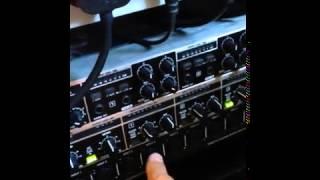 Using the #Behringer #Ultralink Pro as an alternative to a 48 way #patchbay