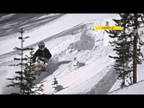 2015 Ski-Doo Summit and Freeride