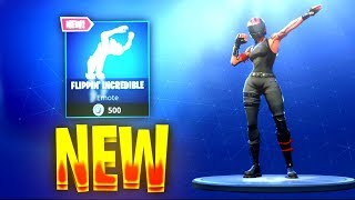 "FORTNITE NEW ""FLIPPIN' INCREDIBLE"" EMOTE! - July 20th Item Shop Update! (Fortnite Battle Royale)"