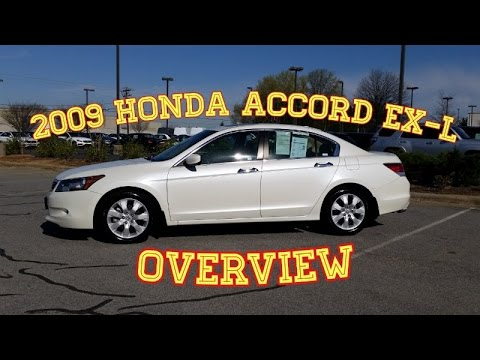 Beautiful 2009 Honda Accord EX L V6 Review U0026 How To   Features Explained