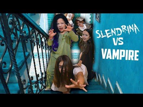 Вампир-Апокалипсис! Слендерина ПРОТИВ Вампира-Ксюши и ее армии вампиров!