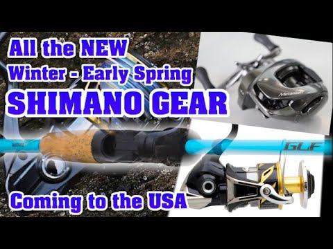Every NEW 2020 Shimano ROD REEL & LURE Coming To The USA Sooner Than You Think!