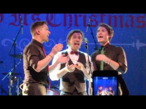 Hanson - joy to the world (finally it's Christmas tour 2017) Manchester