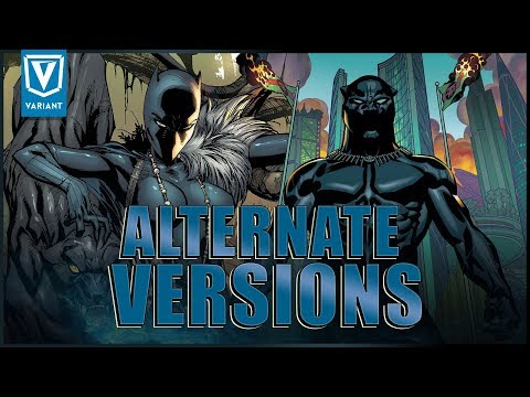 Alternate Versions Of Black Panther!