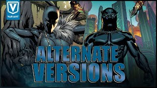 Alternate Versions Of Black Panther!