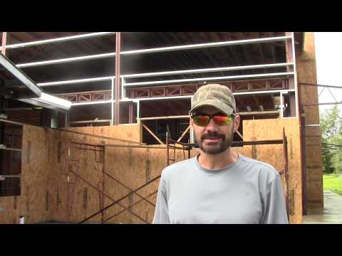 Episode 37: North Gable Wall Sheathing And Garage