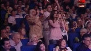 حصريآ آخر حفله للقيصر كاظم الساهر في ليالي التلفزيون المصري 2007 ج1