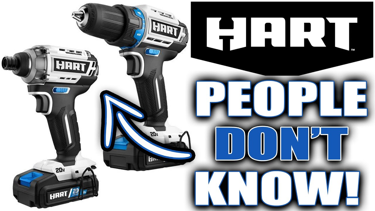 HART Power Tools At Walmart PEOPLE HAVE NO CLUE!