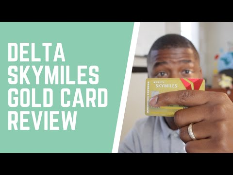 Delta Credit Card Review (Delta SkyMiles Gold Card)