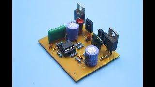 Транзисторный усилитель 50W своими руками.