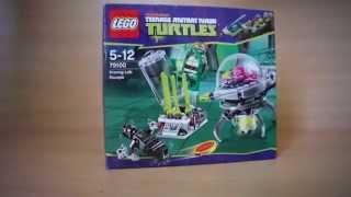 Обзор набора LEGO Черепашки-ниндзя 79100 Побег из лаборатории