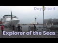 Explorer of the Seas Cruise 2017 - Days 1 to 4 at Sea