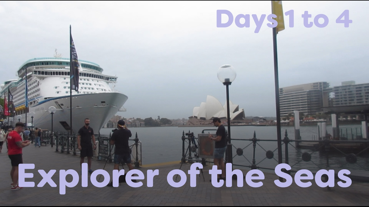 Explorer Of The Seas Cruise 2017 Days 1 To 4 At Sea