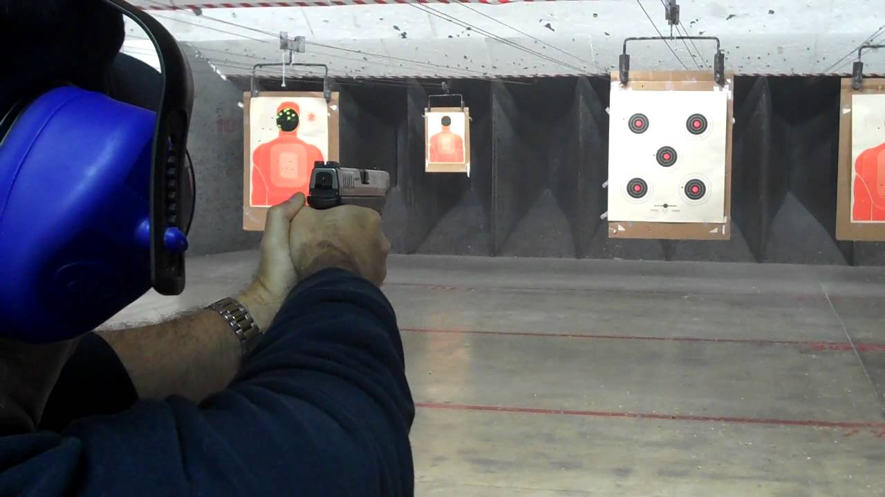 XDM 9mm (Easy gun to shoot) - YouTube