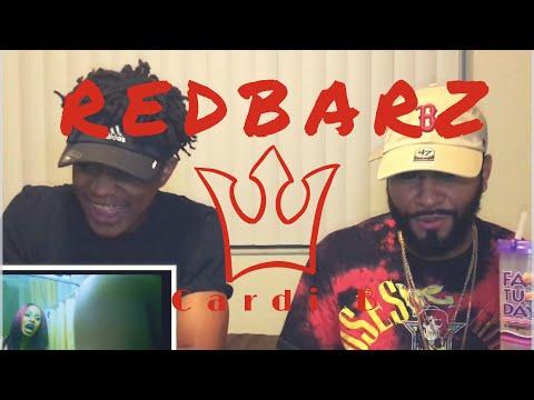 Cardi B - Red Barz | REACTION