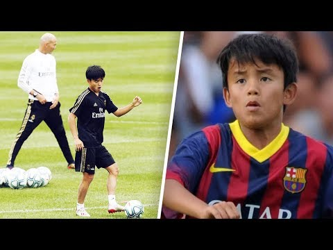 "The ""Japanese Messi"" stolen by Real Madrid from FC Barcelona - Oh My Goal"