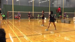 Dave Freeman 2015 A Womens Doubles Semi-Finals Jacqueline Ko Daphne Ng vs Kerry Xu Annie Xu