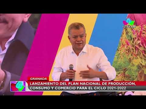 Lanzamiento del Plan Nacional de Producción, Consumo y Comercio 2021 2022