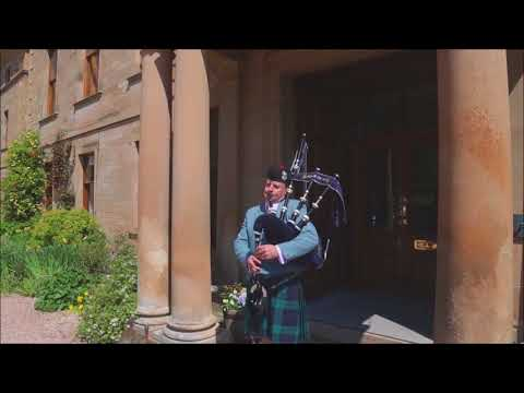 Wedding Piper Scotland