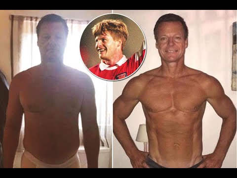 Ex-Arsenal star Stefan Schwarz loses more than three stone in weight with extreme gym and eating pla
