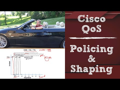 Cisco CCNA R&S v3 QoS Topics: Policing and Shaping
