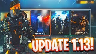 WHATS NEW IN BLACK OPS 4 UPDATE 1.13?/OUTRIDER SPECIALIST/WEAPON TUNING/NEW OPERATION GRAND HEIST!