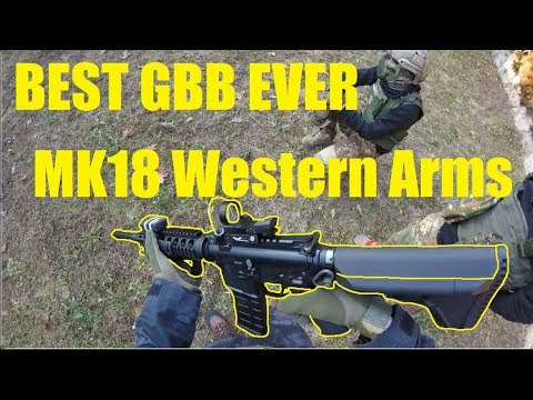 BEST GBB!!!Airsoft Italia Gameplay MK18 WA Western Arms