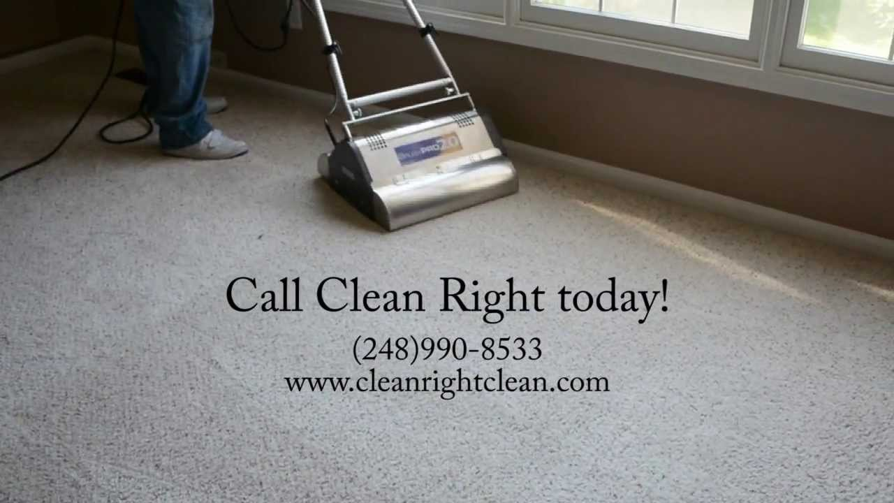Special Carpet Cleaning Offer From Clean Right