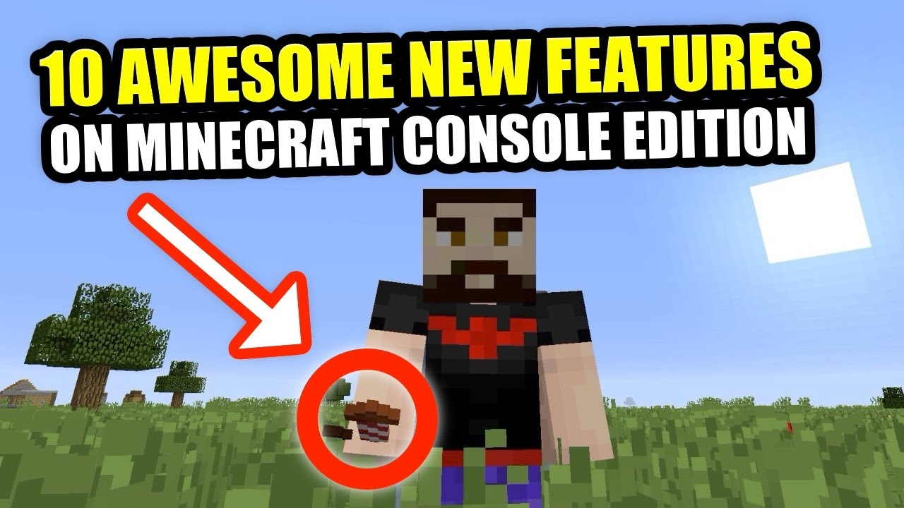 8 AWESOME NEW UPDATES For MINECRAFT Nintendo Switch, Playstation & Xbox  Editions