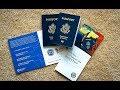 Renewing of U.S. Passport at the Post Office