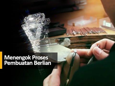 Menengok Proses Pembuatan Berlian