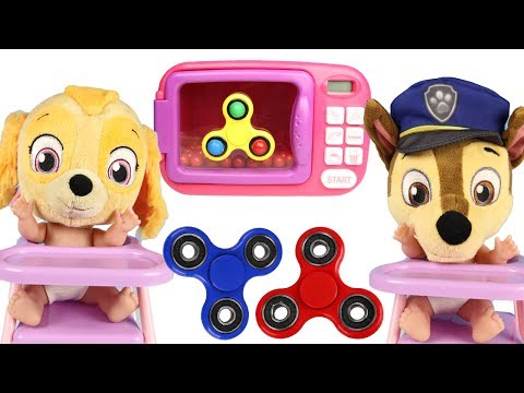 PAW PATROL Learn Colors with Gumball Fidget Spinner and Magic Toy Maker,  LOL Dolls and Spiderman