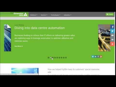 Dimension Data Cloud Client Computing & Data Centre