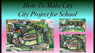 How To Make A City Project || City Model || City School Project ||