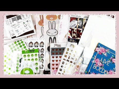 HUGE ETSY PLANNER STICKER HAUL!