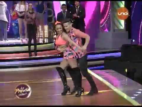 """¡Marcia Franco y Arlhinson Samaniego bailan """"Cumbia Pop"""" en """"Duelo De Capitanas""""!"""